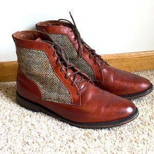 Allen Edmonds Shaker Heights Tweed Leather Boots